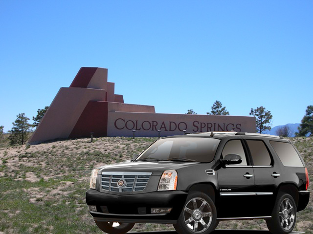 Denver airport to Colorado Springs transportation services