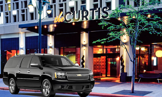 Denver airport to curtis hotel transportation