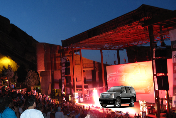 Red Rocks Limousine and shuttle transportation